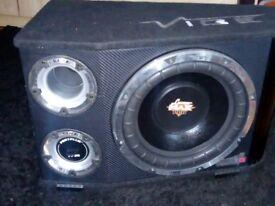 Car vibe speaker