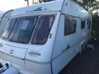 Fleeywood countryside 580/5 2002 5 berth with motor mover touring caravan