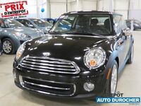 2012 Mini Cooper (auto.,4 cyl.,air clim.,cruise,sieges chauff.,m