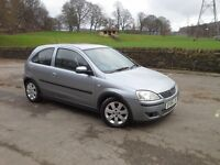 Vauxhall Corsa Sxi + 1.2 16v 3 Door ★ ★ ★ Silver Lightning★★★ ★ ★ LONG MOT★★★VERY CLEAN CONDITION ★