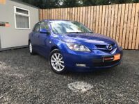 OCT 2008 MAZDA 3 5 DOOR 1.6 TAKARA 1 Owner from new (toyota cheap cars vauxhall ford)