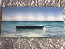 Print Canvases of the sea.