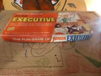 vintage old collectible board game Junior Executive