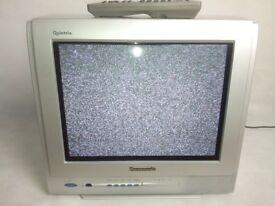 Panasonic 14 inch analogue television (not digital)
