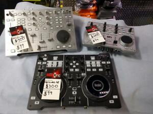 EXTREME DEAL ON HERCULES DJ CONTROLLER! USED MODELS FOR CHEAP!