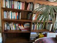 Handmade solid pine bookcase