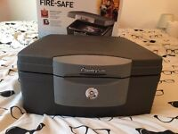 Fire, water and security safe (SentrySafe F2300)