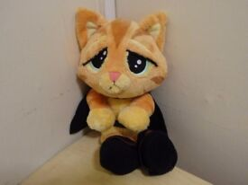 PUSS IN BOOTS - SOFT, ADORABLE AND HIGHLY COLLECTABLE