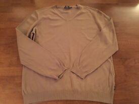 Men's large Hugo boss v neck sweater jumper
