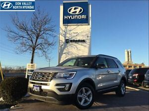 2016 Ford Explorer XLT - 4WD, LEATHER INTERIOR