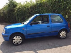 2000* NISSAN MICRA 1.0 CELEBRATION 3 DOOR HATCHBACK