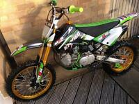 "LIMITED EDITION Monster M2R *160cc* crf70 taller 86"" model pitbike"