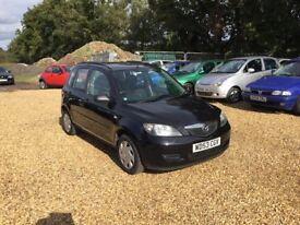 2003 Mazda 2 1.4 11 Months MOT 2 Keys Low Milage 3 Former Keepers Cheap Car