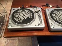 Two Ministry Of Sound Turntables