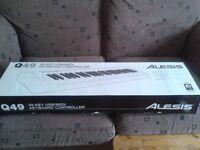 Alesis Q49 USB/MIDI Keyboard Controller - Boxed - £40.00
