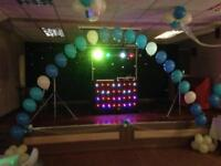Mobile Disco set up splitting and selling as separates