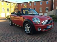 2010 Mini One Convertible, cheaper insurance than Cooper