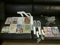 Nintendo Wii in excellent condition with accessories ideal Christmas entertainment