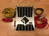 Rockford Fosgate Power 200a1 Mono Car Amplifier with Wiring kit OLD SCHOOL £60 ONO