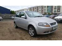 Chevrolet Kalos 1.2 SE 5dr 1 previous owner. Long Mot 2008 (08 reg), Hatchback 73,000 miles