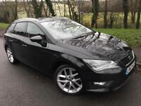 SEAT LEON FR TECH ESTATE IMMACULATE FULL SERVICE HISTORY, WINTER PACK.