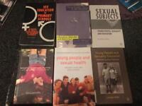Sex education, sexuality & gender books x 6