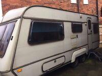 Coachman touring caravan