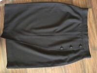 Black pencil skirt FRENCH CONNECTION Size 14
