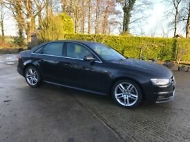 2013 Audi A4 S Line - Full Audi History - Xenon - New Tyres - 6 Month Warranty * FINANCE FROM 50 P/W