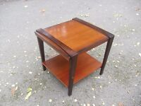 Lovely Modern Mahogany Centre Side Coffee Table