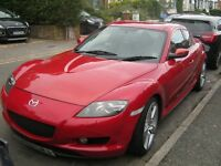 MAZDA RX8 WITH NEW REBUILT ENGINE