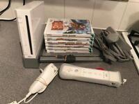 Nintendo Wii & 6 games