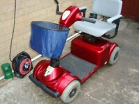 PRIDE VICTORY RED MOBILITY SCOOTER.