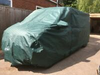 CAMPER VAN COVER, PRO-TEC MADE TO MEASURE TO FIT LWB VW T5/T6