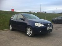 58 plate Polo 1.2. New front tyres, 1 year mot on it. 64500 miles. Call if interested on 07879495888