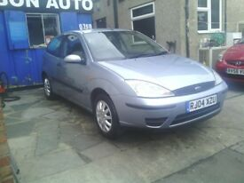 FORDE FOCUS 1.6 MOT 3 DOOR COUPE PX WELCOME