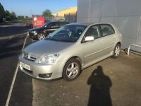 2005 TOYOTA COROLLA COLOUR COLLECTION 10 MONTHS MOT PX WELCOME £1495