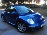 *** 2007 VW Beetle Convertible , Low Mileage , Full Service History ***