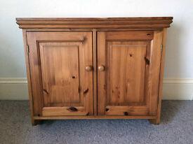 Pine Wall Cabinet / Cupboard
