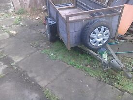 A car trailer I'm in need of a one or spares or repaire