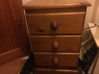 SOLID bedside draws not the cheap type perfect for shabby chic £5
