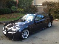 BMW 530D M Sport Touring Directors Car Black Metallic Semi-Auto Full Leather Excellent Condition