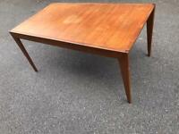 Younger vintage retro extending dining table possible delivery