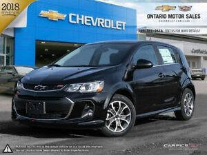 2018 Chevrolet Sonic LT Auto 0% Financing for 72 Months!