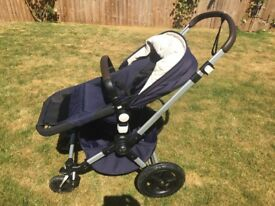 Bugaboo Cameleon3 in Navy and Cream in Great Condition