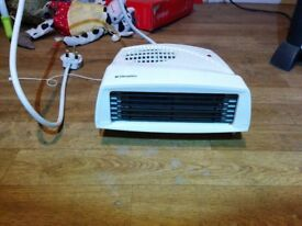 Electric Fan Down Heater