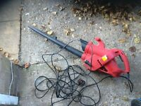 Leaf blower with blower control very powerfull with long lead vgc gwo