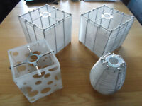 Various light shades for sale