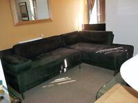 HABITAT Scala sofas by Matthew Hilton . ( dark brown )