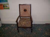 Chair made by Ex Servicemen ID 54/10/17